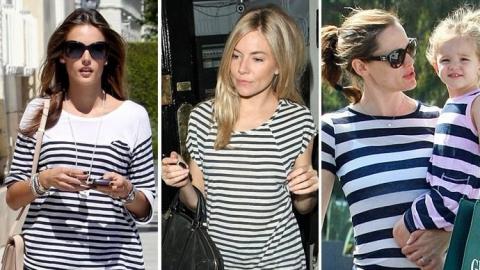 Модный принт полоска: как и кому носить в 2015 году