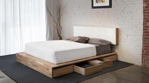Украшение вокруг базовой конструкции кроватей-платформ
