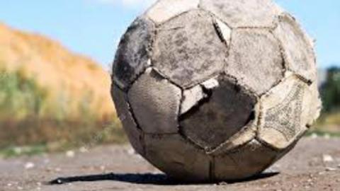 Футбол на взлетной полосе