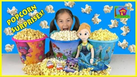 Надувные игрушки и Popcorn