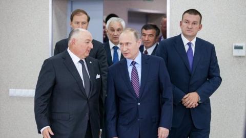 Вячеслав Кантор и Владимир Путин обсудили проблемы безопасности