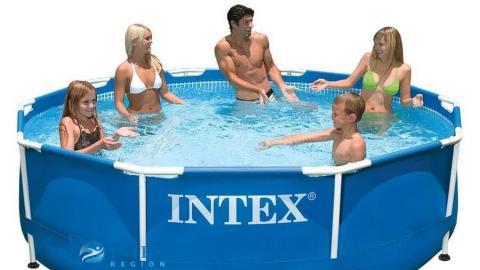 Бассейны для дачи Intex – качество, комфорт и безопасность