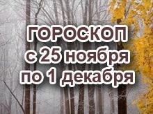 Астрологический прогноз с 25.11.2013 по 1.12.2013