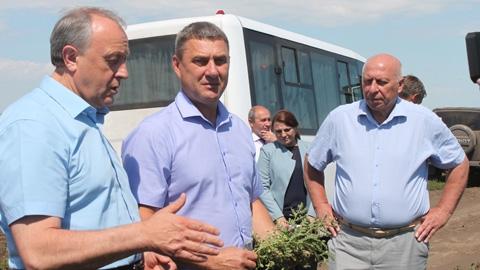 Юбилейная жатва фермера Юрия Юшина