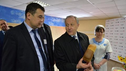 Свежий хлеб старинной пекарни