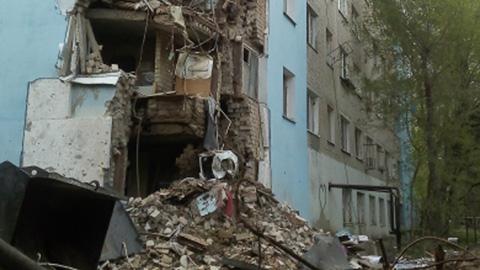 В Саратове обрушился пятиэтажный дом