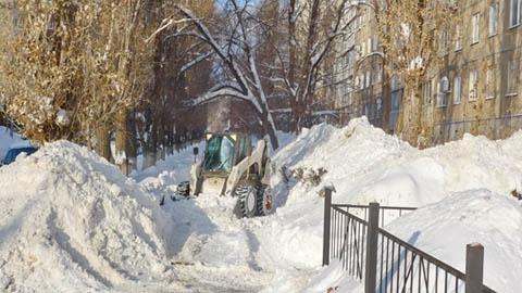 Нашлись деньги  на снегоуборочную технику