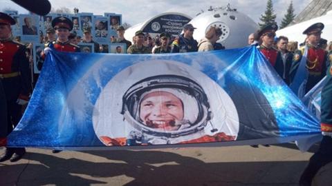 Парк Космонавтов поставят на место
