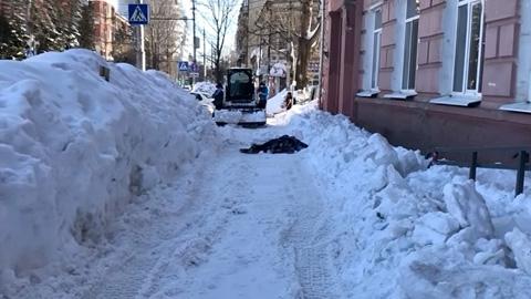 Снежная зима в Саратове: смерть взяла под козырек
