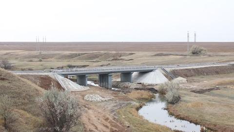Мост через  реку Сухой Карамыш