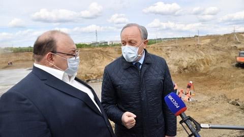 Инфекционный центр - народная стройка  на деньги Москвы