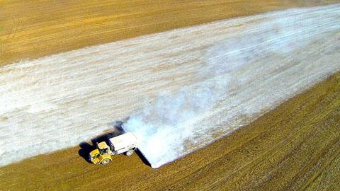 Химическая мелиорация почв - один из важных сельскохозяйственных приёмов нашего времени