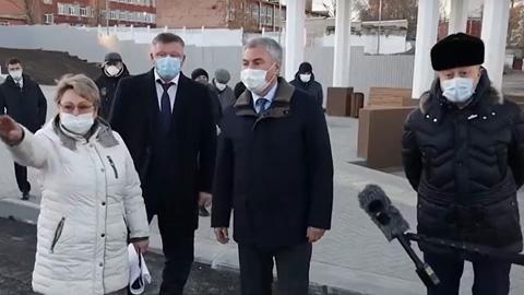 Вячеслав Володин  и  бессовестные  главы
