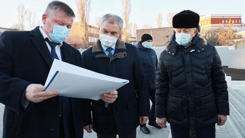 Володин назвал главные беды Саратова