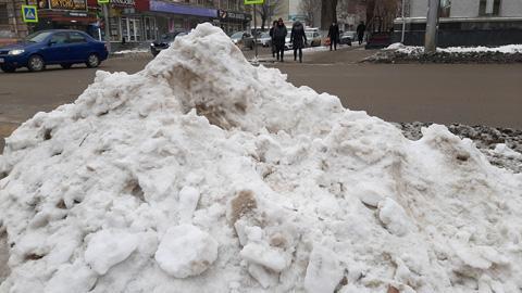 Саратов бьёт снежные рекорды