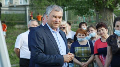 Бондаренко полупринял вызов Володина