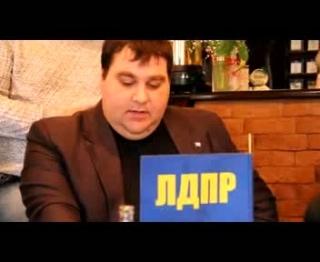 Дебаты представителей Прохорова и Жириновского - 1