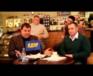 Дебаты представителей Прохорова и Жириновского - 3