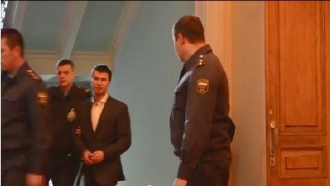 Владислава Малышева заключили под стражу в зале суда