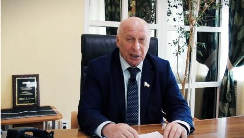 Новогоднее поздравление ректора СГАУ Николая Кузнецова