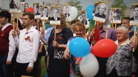 Залпы праздничного салюта прозвучали в честь Дня Победы в селе Росташи