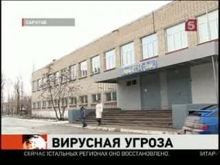 В Саратове с диагнозом «свиной грипп» госпитализированы 12
