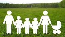 Многодетным семьям должны раздать не менее 896 земельных участков