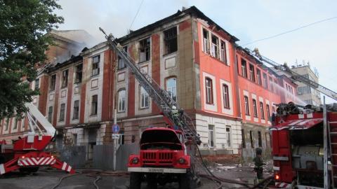 Кому выгоден пожар в общежитии издательства «Слово»