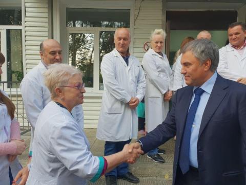 Жители округа высоко оценили поддержку Володина