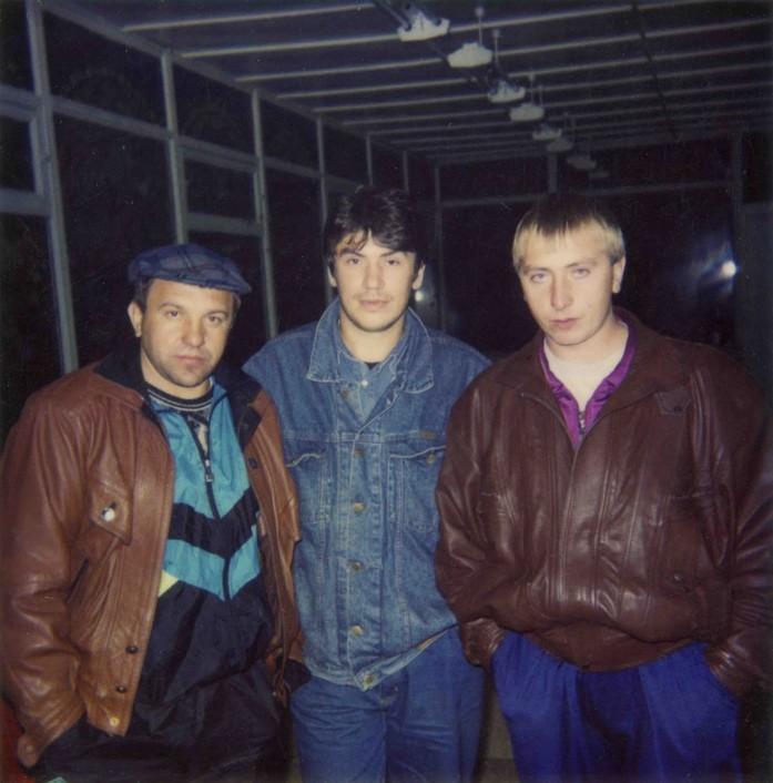 Алексей Наволокин (слева). Фаню (он не любил фотографироваться) называли его казначеем.