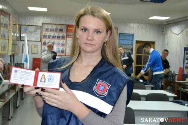 Четверть дружинников получили удостоверения - Новости Саратова сегодня - Saratovnews.ru