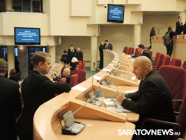 Депутаты Олег Комаров и Максим Самсонов