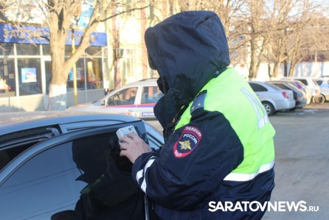 Зачас вСаратове задержали 10 нарушителей тонировки