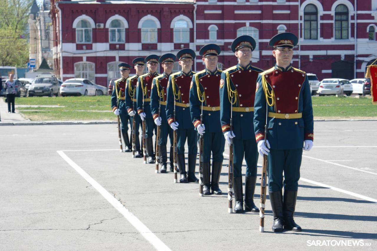 В Саратове прошла генеральная репетиция парада Победы