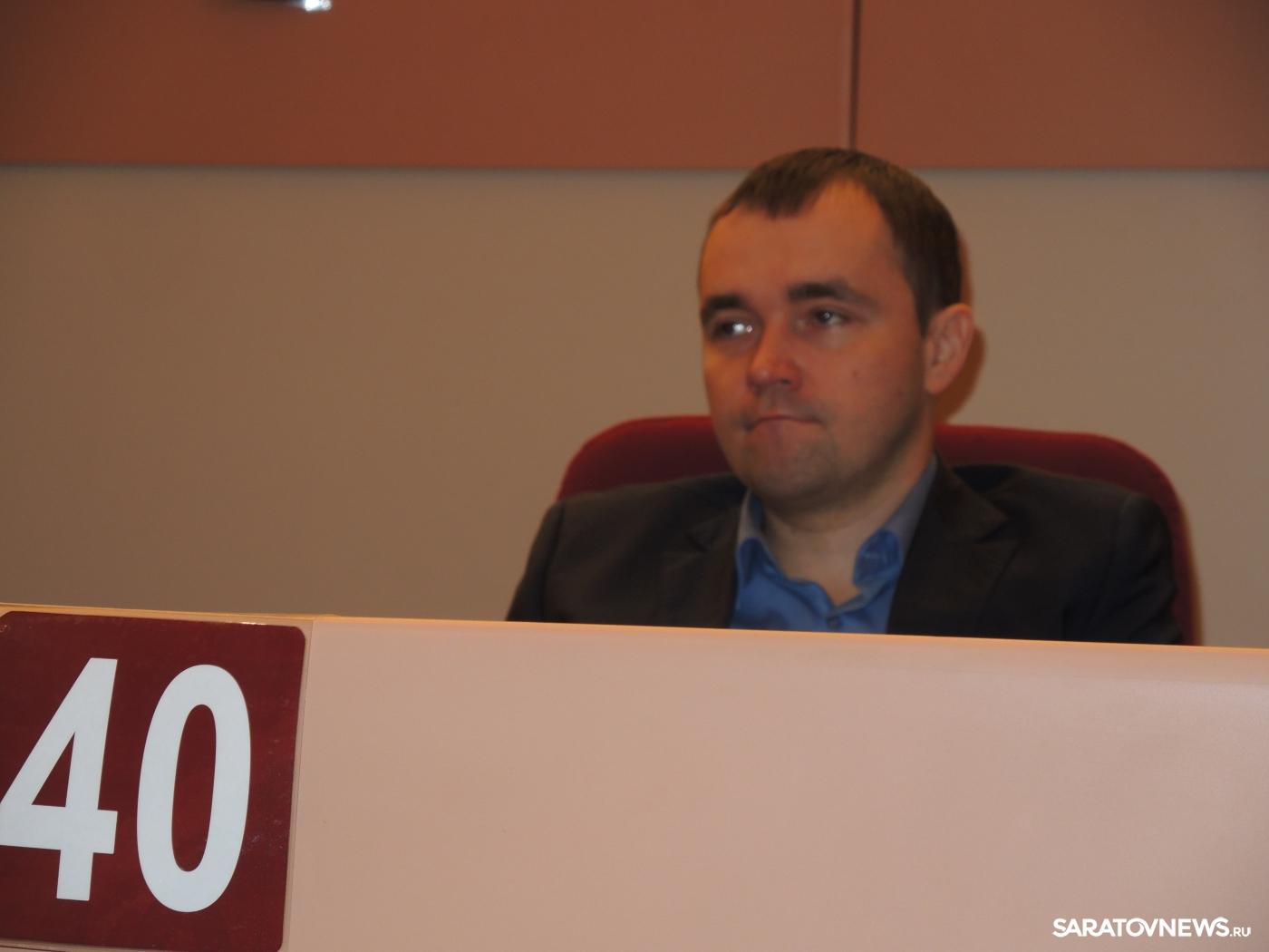 64-е заседание Саратовской областной думы. Сергей Нестеров