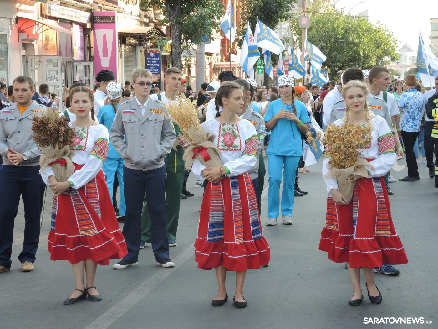 СГАУ на параде Студенчества
