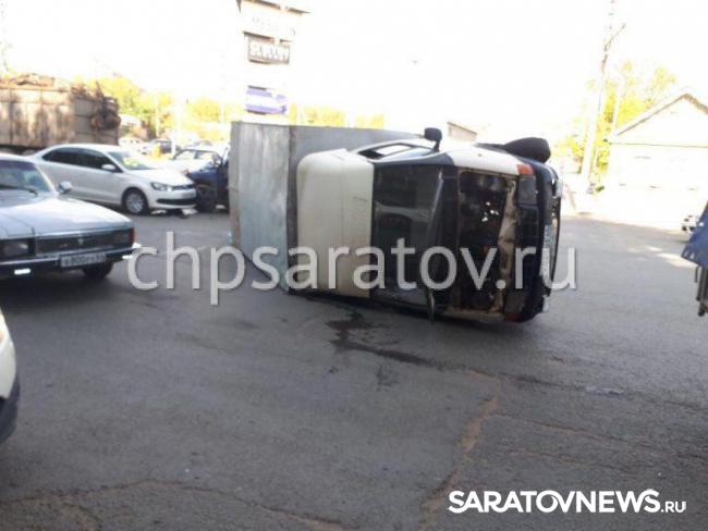 Наулице Чернышевского столкнулись три автомобиля: пострадал мужчина