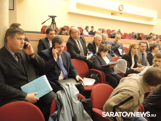 Городская дума приняла бездефицитный бюджет Саратова на3 года