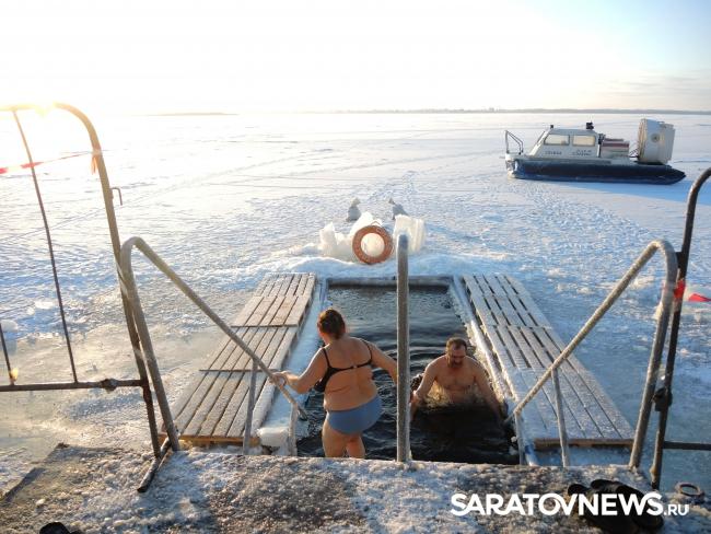Крещение в Саратове