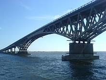 Иван Панков развеял слухи об аварийности моста Саратов-Энгельс