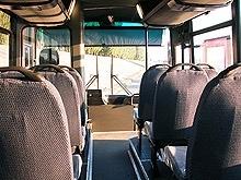 В салоне автобуса травмировалась женщина