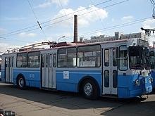 ЗиУ-682Г - 6-й троллейбусный парк.