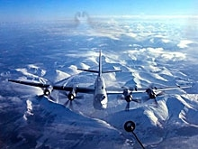 Саратовская стратегическая авиация совершила первое патрулирование в этом году