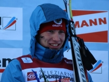 Александра Логинова не взяли на мужскую эстафету по биатлону