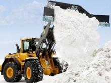 На улице Рахова запланирована уборка снега