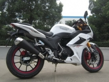 В Заводском районе украли белый мотоцикл