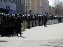 Учения внутренних войск в центре Саратова. Фоторепортаж
