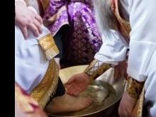 Митрополит Лонгин провел Чин умовения ног