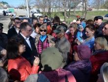 В Гагаринском парке церковь останется в прежних границах