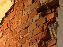 В доме на Московской обрушилась часть подвала